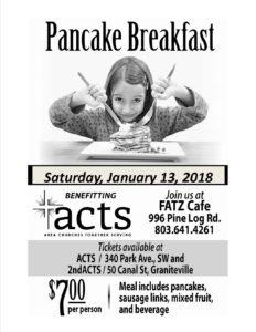 Pancake Breakfast @ FATZ Cafe